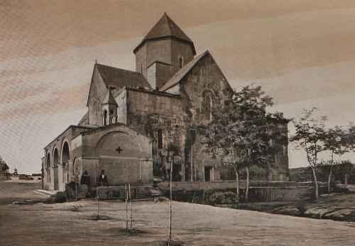 Etchmiadzin Exterior of Saint Gayane