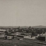 Gyumri from the Armenian cemetery