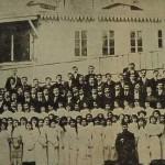 Komitas Vartabed's voice choir - 1914 Constantinople