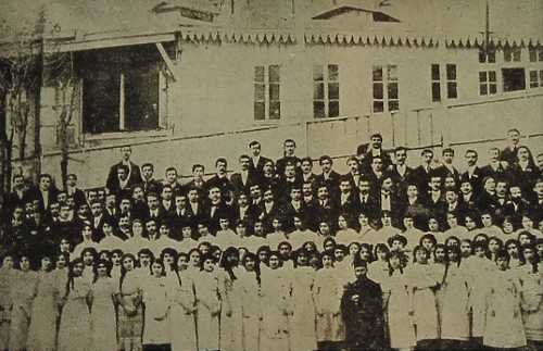 Komitas Vartabed's voice choir – 1914 Constantinople