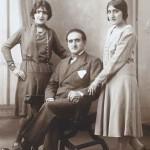 Makrouhi, Hayk and Ramela Kebabdjian - 1929 Courbevoie