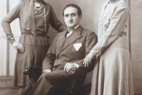 Makrouhi, Hayk and Ramela Kebabdjian – 1929 Courbevoie