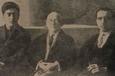 Alexander Spendiarian, Aram Khachaturian and Guevorg Boudaghian