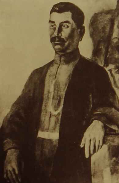 Portrait of the Armenian gusan Sheram