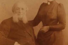 Ayvazovski with his wife – 1887