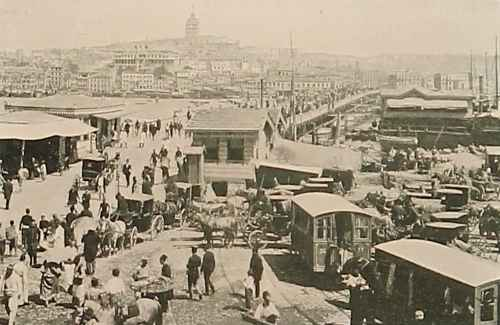 Galata bridge – Constantinople