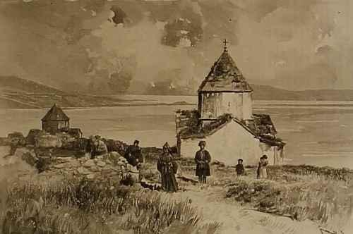 Sevanavank monastery – 1892
