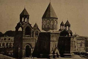 The Mother Church of Etchmiadzin – 1909