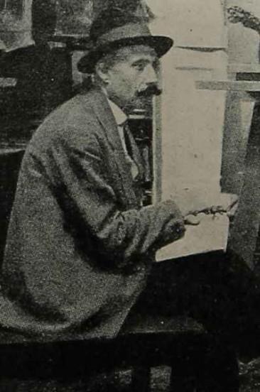 The painter Andreas Ter-Maroukian