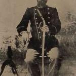 Nikol Douman (1867-1914) photographed in Iran in 1910.