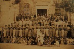 Armenian orphans in Jerusalem