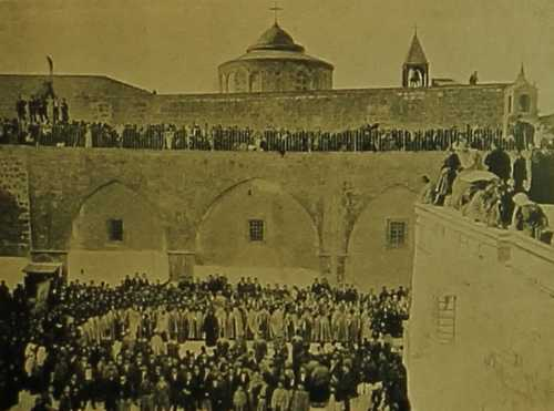 Pilgrimage in Jerusalem