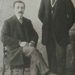 Levon Moukbirian (seated) was from Yozgat