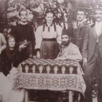 Family Ballian upon their arrival in Banja Luka