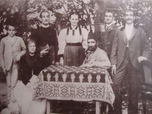 Family Ballian upon their arrival in Banja Luka