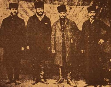 Armenian leaders of the Second Zeytun Resistance