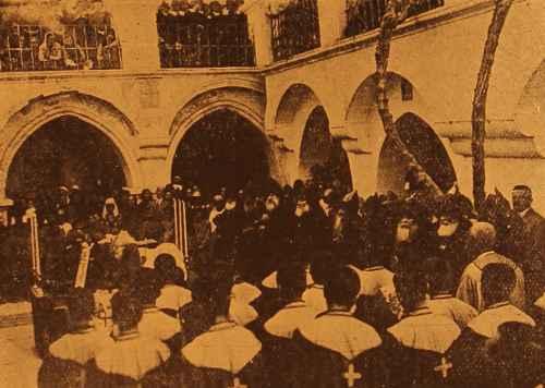 Commemoration of the Armenian Legion in Jerusalem