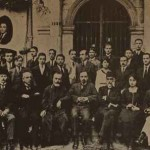 Getronagan students and teachers in 1920