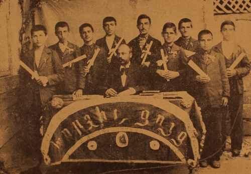 Graduates from the Aramian School of Adapazar