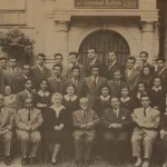 Graduates from the Getronagan in 1952