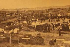 Leninagan (Gyumri) after the earthquake of 1926