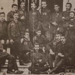 Students of the Getronagan Armenian High School