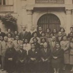 Teaching staff of the Getronagan in 1952