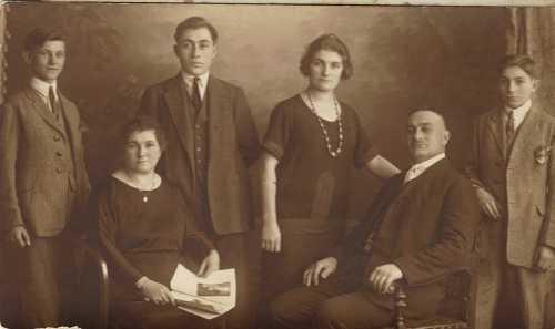 Family Ballian in Sarajevo (Bosnia)