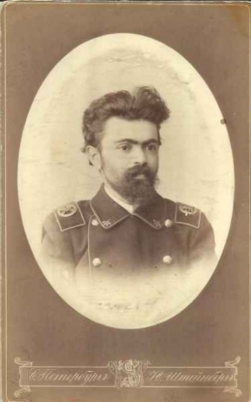 I. S. Baguinoff in Saint Petersburg in 1891