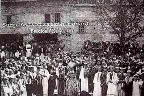Surp Asdvadzadzin Vank – Zeytun 1913