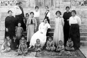 Armenian orphans – Marash 1918