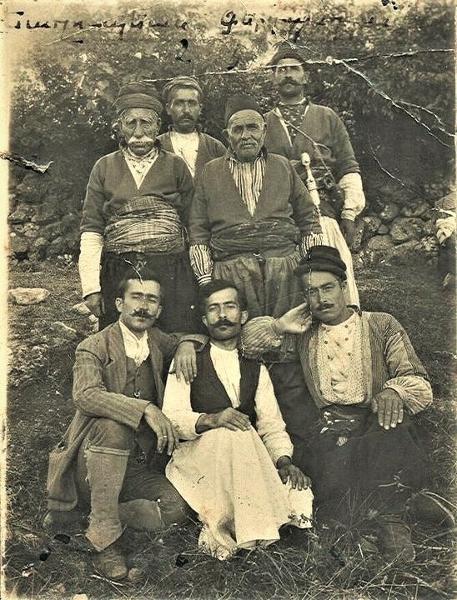 Zeytoun spring 1912, Yaqoubian Ishkhanyats clan members