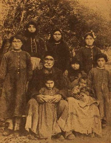 Armenian family from Dzovk