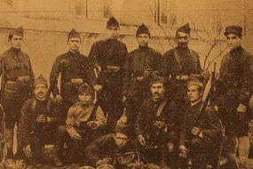 Dzovk volunteers – Giligia 1919