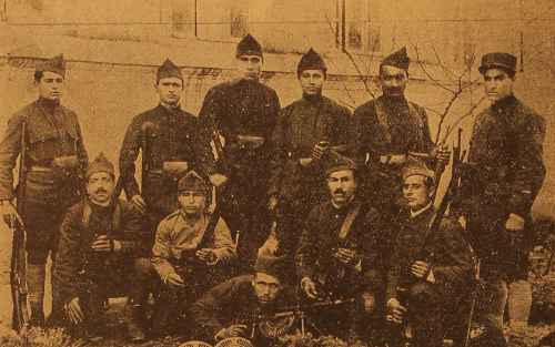 Dzovk volunteers – Giligia 1919