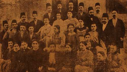Armenian high school – Ourfa 1900