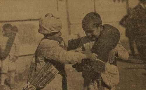 Armenian orphans in Beirut, Lebanon – 1922
