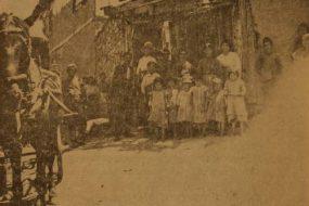 Miss Stella Loughridge with Armenian orphans