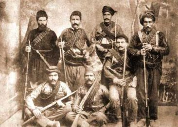Serope Aghpure Pasha's Armenian Fedayee squad in Mush – 1899