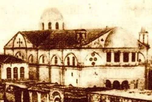Mush, Tseronque village Armenian church c. 1903