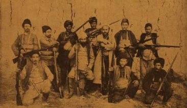 Toumani fedayee (partisan) leader group – Bulgaria