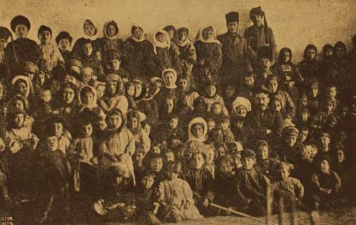 Armenian refugees – Akhalkalak