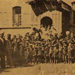 Armenian orphans with Catholicos