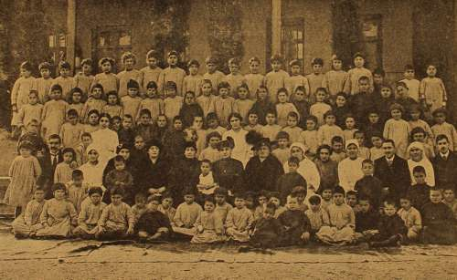 Armenian orphanage – Tiflis