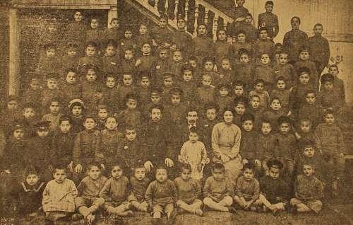 Sassoun Armenian orphans in Gyumri