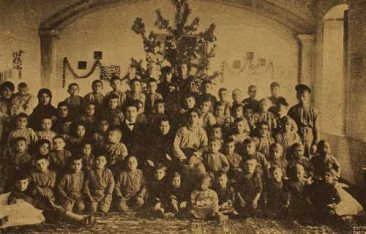 Orphans in Gyumri