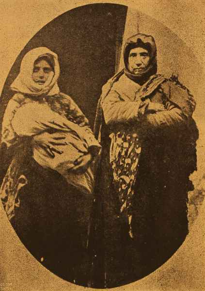 Armenian survivors from Moush