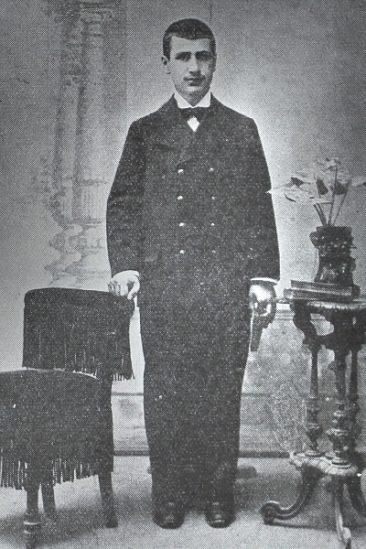Daniel Varoujan, student at the Mekhitarian