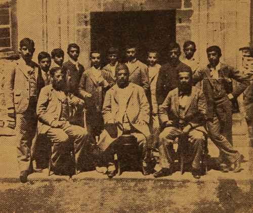 Sanassarian college graduates – Garin 1895