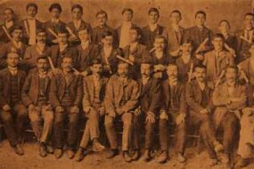 Teachers and Sunday school graduates, Lusaper organization – Sebastia (Sevaz) 1910